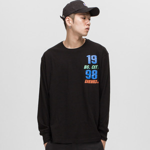 GWL315 LONG SLEEVE - BLACK